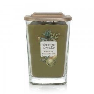 Lumanare Parfumata Elevation Collection Borcan Mare Pear & Tea Leaf, Yankee Candle
