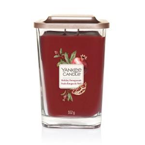 Lumanare Parfumata Elevation Collection Borcan Mare Holiday Pomegranate, Yankee Candle