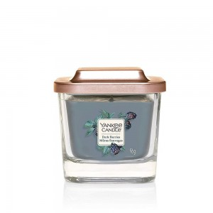 Lumanare Parfumata Elevation Collection Borcan Mic Dark Berries, Yankee Candle