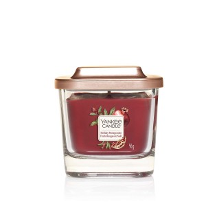 Lumanare Parfumata Elevation Collection Borcan Mic Holiday Pomegranate, Yankee Candle
