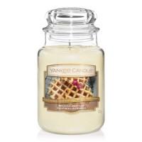Lumanare Parfumata Borcan Mare Belgian Waffles, Yankee Candle