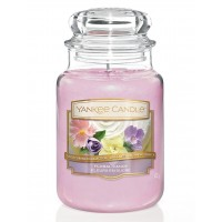 Lumanare Parfumata Borcan Mare Floral Candy, Yankee Candle