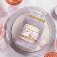 Lumanare Parfumata Borcan Mare Sweet Morning Rose, Yankee Candle