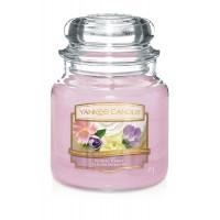 Lumanare Parfumata Borcan Mediu Floral Candy, Yankee Candle