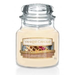 Lumanare Parfumata Borcan Mic Belgian Waffles, Yankee Candle