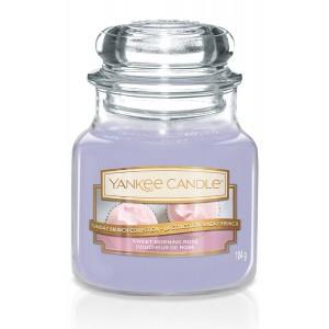 Lumanare Parfumata Borcan Mic Sweet Morning Rose, Yankee Candle
