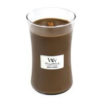 Lumanare Parfumata Borcan Mare Amber & Incense, WoodWick®