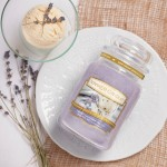 Lumanare Parfumata Borcan Mediu Honey Lavender Gelato, Yankee Candle