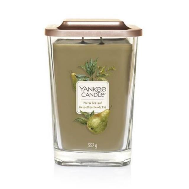 Lumanare Parfumata Elevation Collection Borcan Mare Pear & Tea Leaf, Yankee Candle
