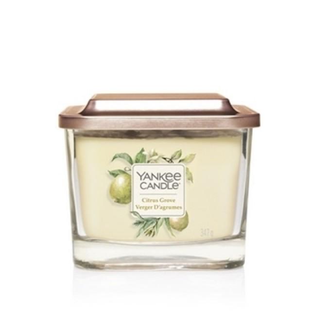 Lumanare Parfumata Elevation Collection Borcan Mediu Citrus Grove, Yankee Candle