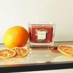 Lumanare Parfumata Elevation Collection Borcan Mediu Sweet Orange Spice, Yankee Candle