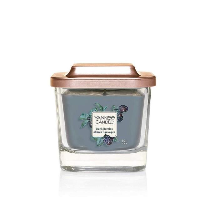 Lumanare Parfumata Elevation Collection Borcan Mic Dark Berries, Yankee Candle