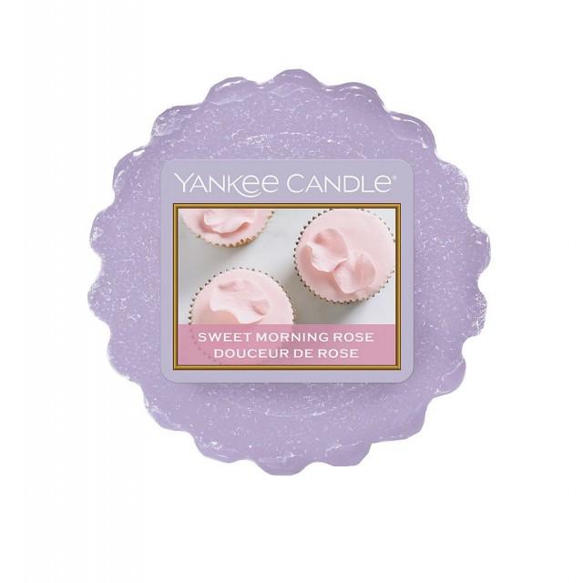 Tarta Parfumata Sweet Morning Rose, Yankee Candle