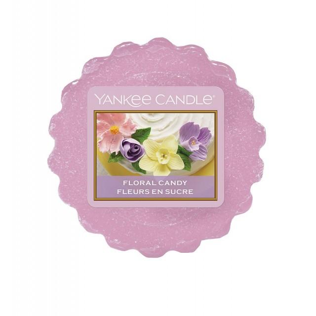 Tarta Parfumata Floral Candy, Yankee Candle