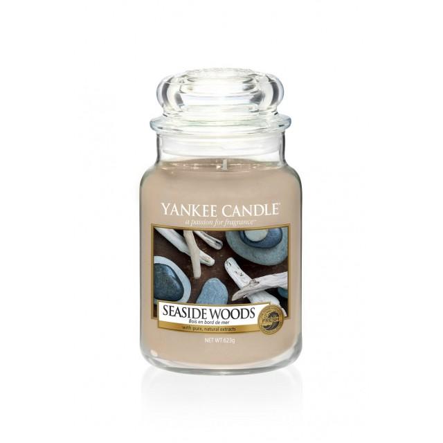 Lumanare Parfumata Borcan Mare Seaside Woods, Yankee Candle