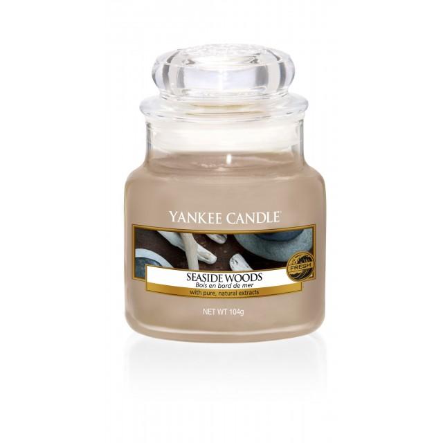 Lumanare Parfumata Borcan Mic Seaside Woods, Yankee Candle