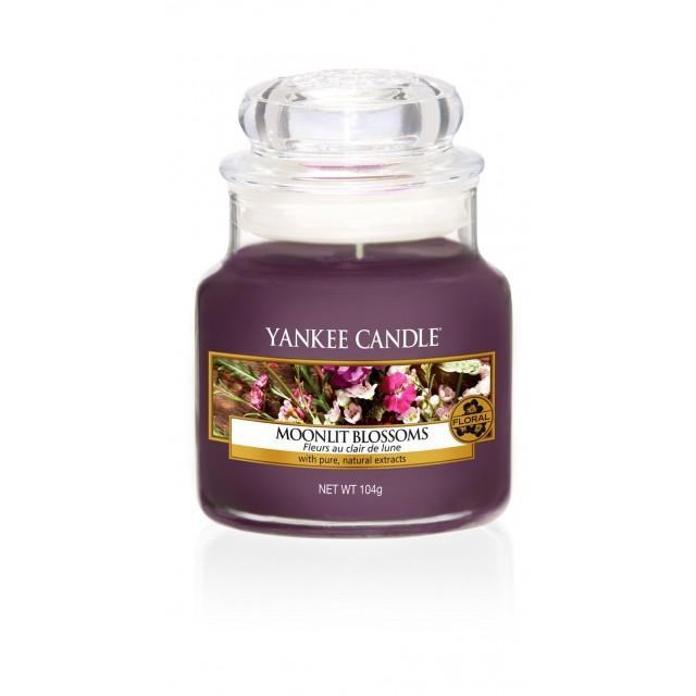 Lumanare Parfumata Borcan Mic Moonlit Blossoms, Yankee Candle