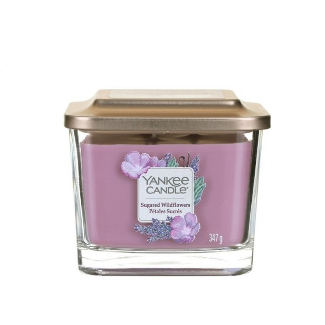 Lumanare Parfumata Elevation Collection Borcan Mediu Sugared Wildflowers, Yankee Candle
