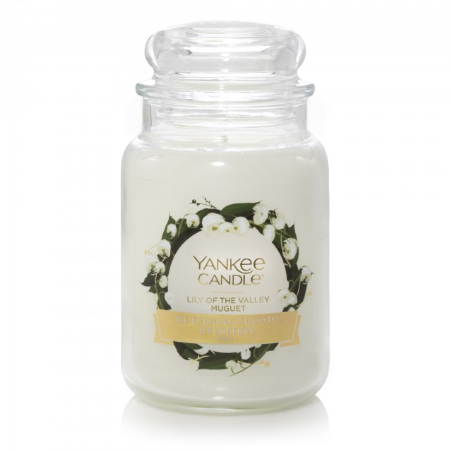 Lumanare Parfumata Borcan Mare Lily of the Valley, Yankee Candle