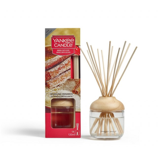 Betisoare Parfumate Sparkling Cinnamon 120ml, Yankee Candle