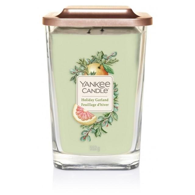 Lumanare Parfumata Elevation Collection Borcan Mare Holiday Garland, Yankee Candle