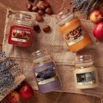 Lumanare Parfumata Borcan Mare Dried Lavender & Oak -Colectia toamna 2019, Yankee Candle