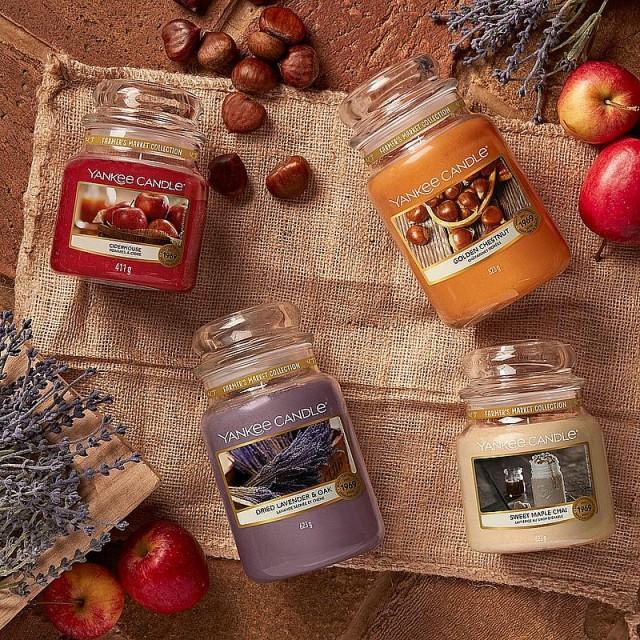 Lumanare Parfumata Borcan Mare Sweet Maple Chai, Yankee Candle