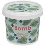 Exfoliant Vegan pentru corp Blackcurrant, Bomb Cosmetics, 375g