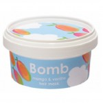 Masca pentru par Mango & Vanilla, Bomb Cosmetics, 210ml