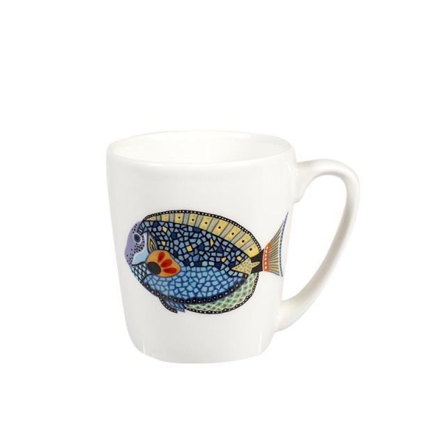 "Cana cu decor marin Paradise Fish ""Blue Tang"" 300ml, Churchill"