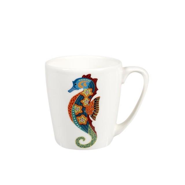 "Cana cu decor marin Paradise Fish ""Seahorse"" 300ml, Churchill"