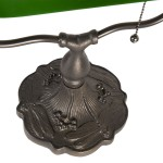 "Lampa de birou ""Classic Green"", Clayre & Eef"