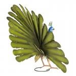 """Decoratiune """"Peacock"""" 58*19*30 cm, Clayre & Eef"""