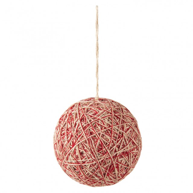 "Decoratiune de agatat ""Christmas Ball"", Clayre & Eef"