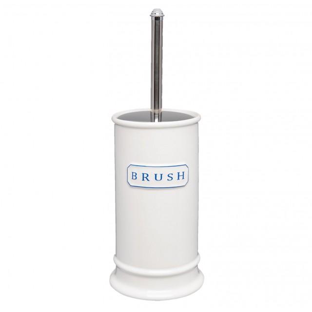 "Perie pentru toaleta cu suport din ceramica ""Brush"", Clayre & Eef"