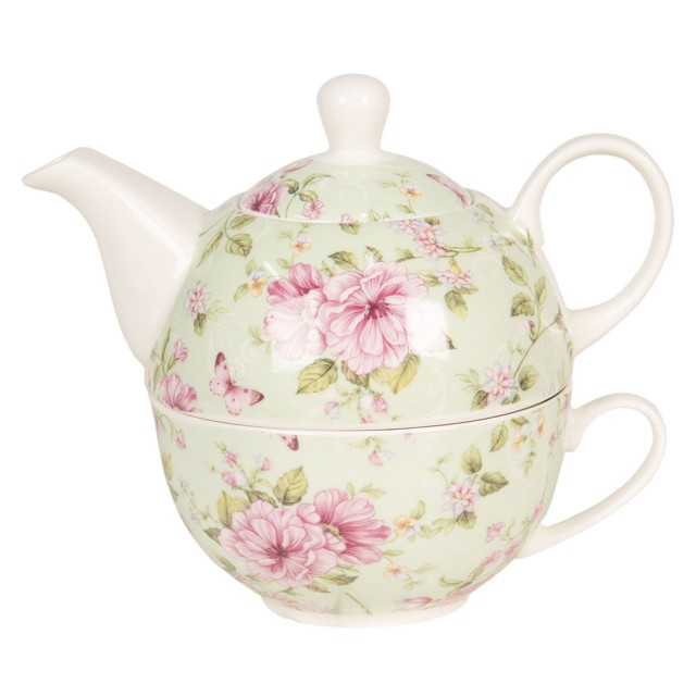 """Ceainic Tea for One """"Spring Blossom"""" Green, Clayre & Eef"""
