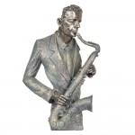 "Decoratiune ""Saxophonist"" 28*13*42 cm, Clayre & Eef"