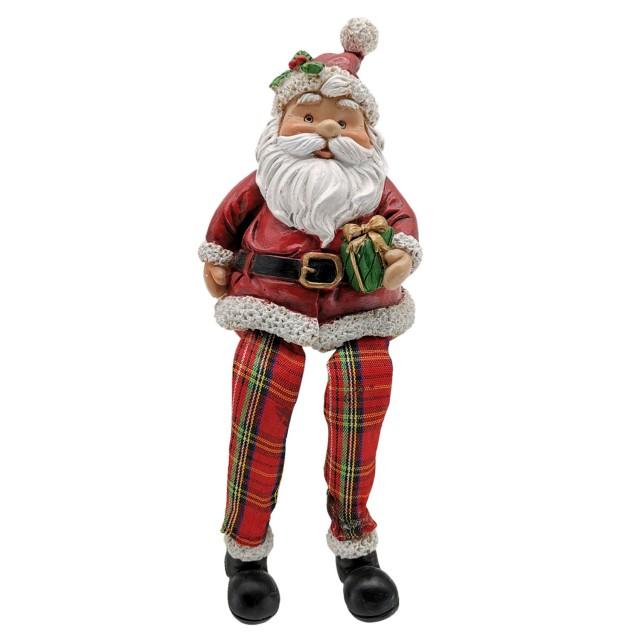 """Decoratiune """"Santa"""" 7*7*10 cm, Clayre & Eef"""