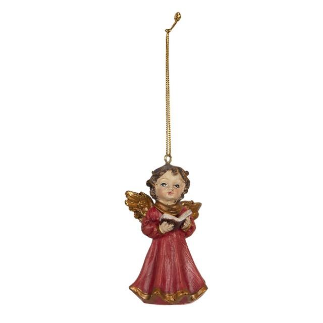 "Decoratiune de agatat ""Little Angel"" 4*4*7 cm, Clayre&Eef"