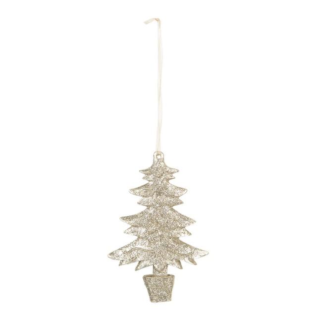"Decoratiune de agatat ""Christmas Tree"" 7*1*11 cm, Clayre & Eef"