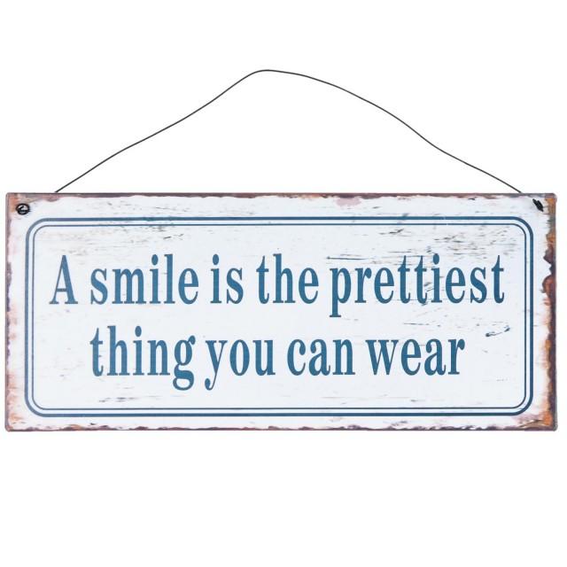 "Decoratiune ""A Smile is..."", Clayre&Eef"