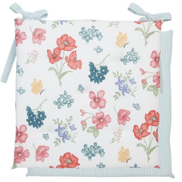 "Perna pentru scaun ""Field Flowers"" 40*40 cm, Clayre & Eef"