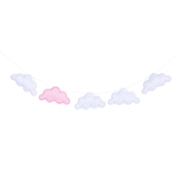 "Decoratiune ""Pink Clouds"", Clayre&Eef"