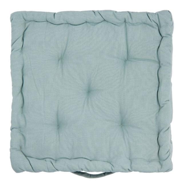 "Perna pentru scaun ""Blue Waves"" 40*40*8 cm, Clayre & Eef"