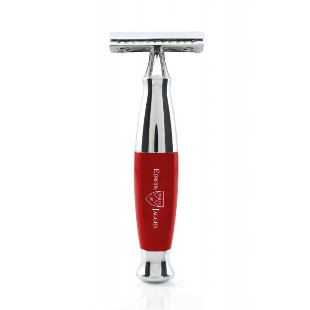 Edwin Jagger Aparat de barbierit clasic, R361CRSR Red