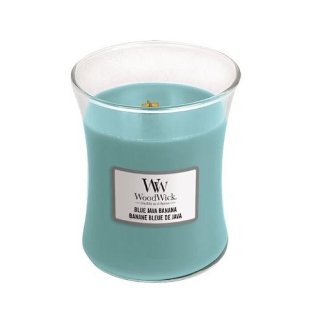 Lumanare Parfumata Borcan Mediu Blue Java Banana, WoodWick®