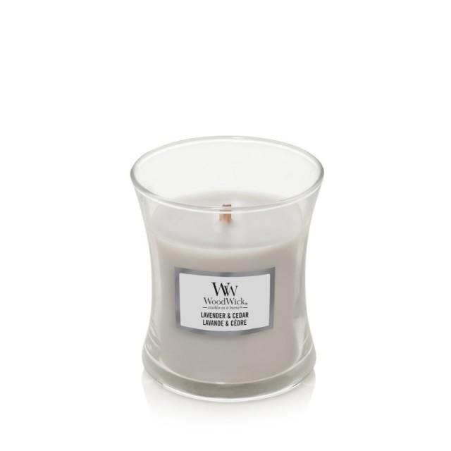 Lumanare Parfumata Borcan Mic Lavender&Cedar, WoodWick®