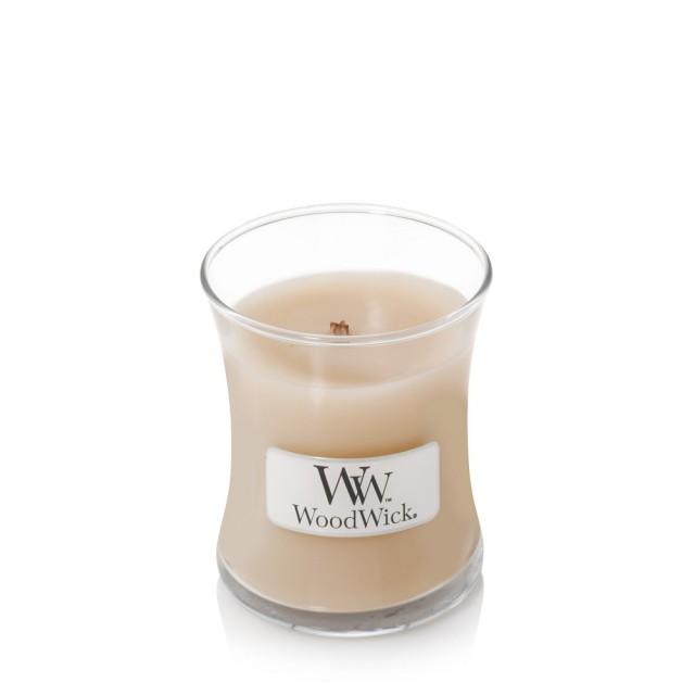 Lumanare Parfumata Borcan Mic White Honey, WoodWick®