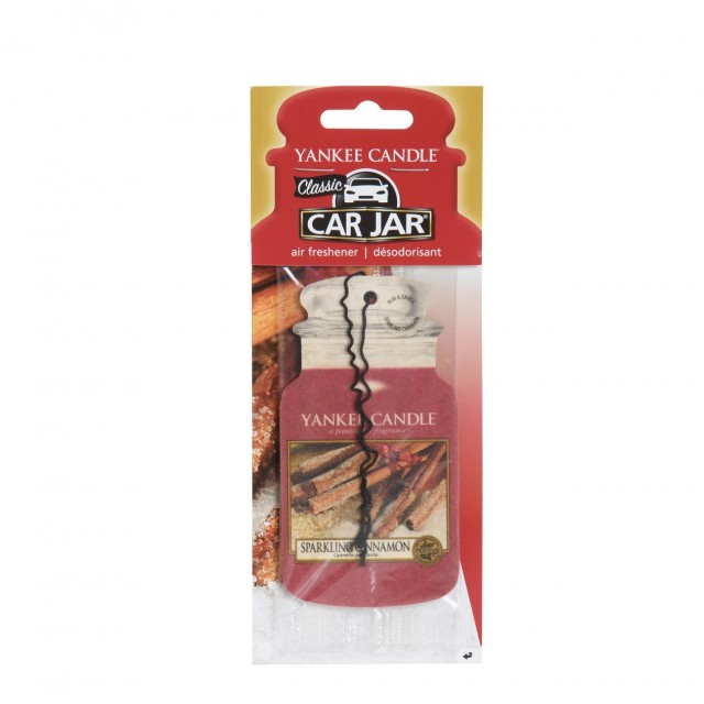 Odorizant Auto Car Jar Sparkling Cinnamon, Yankee Candle