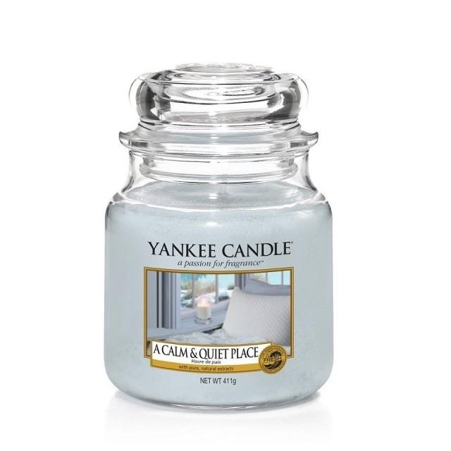 Lumanare Parfumata Borcan Mediu A Calm & Quiet Place, Yankee Candle